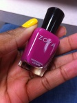"OPI ""Need Sunglasses"" paired with Zoya ""Areej"" for pedicure"